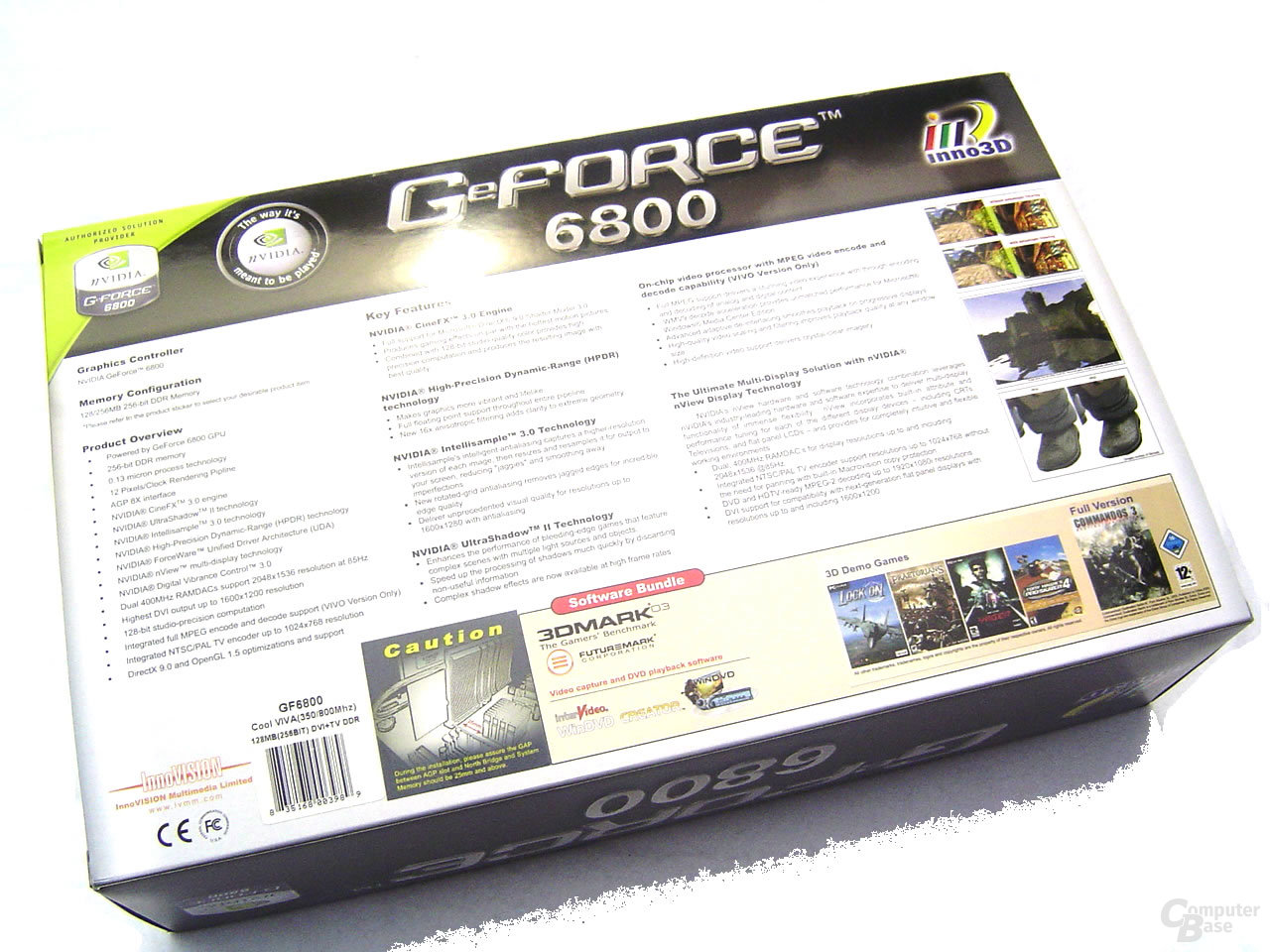 Inno3D GeForce 6800 Cool Viva