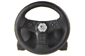Rally Vibration Feedback Wheel (für Playstation)