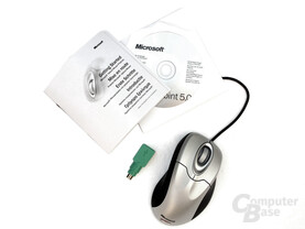 Lieferumfang IntelliMouse Explorer