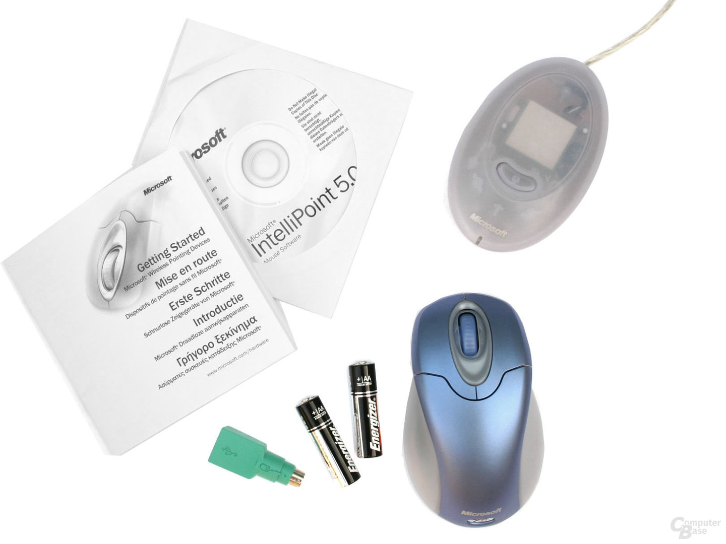 Lieferumfang Wireless Optical Mouse