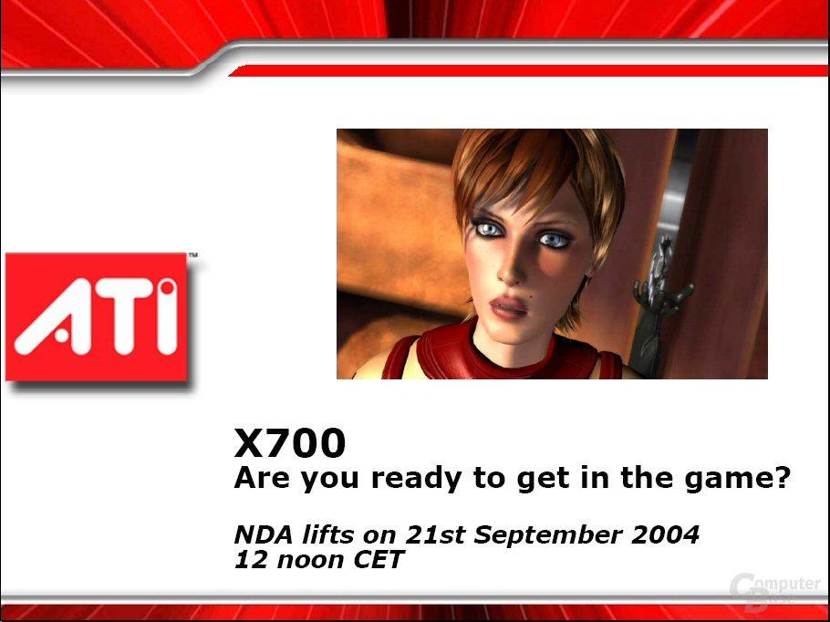 X700 Präsentation