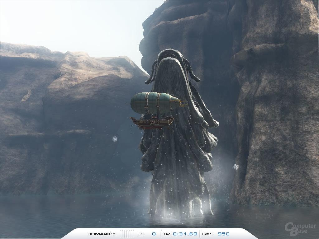 3DMark05 - Canyon Flight