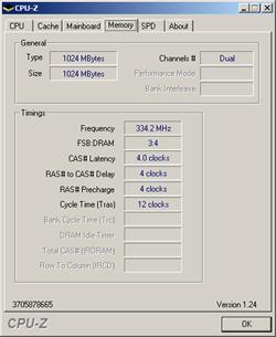Speicher - 250 MHz FSB
