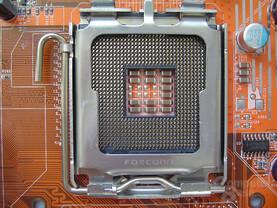 CPU-Sockel von oben
