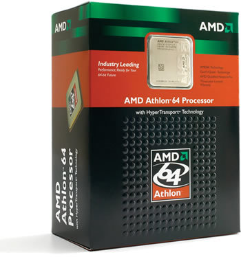 Athlon 64 Verkaufsverpackung