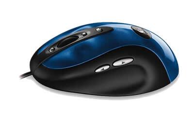 Logitech MX 510 Performance Optical Mouse von der Seite