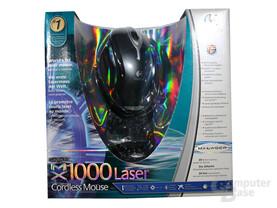 Verpackung MX1000 Laser