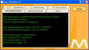AOpen i855GMEm-LFS Utility