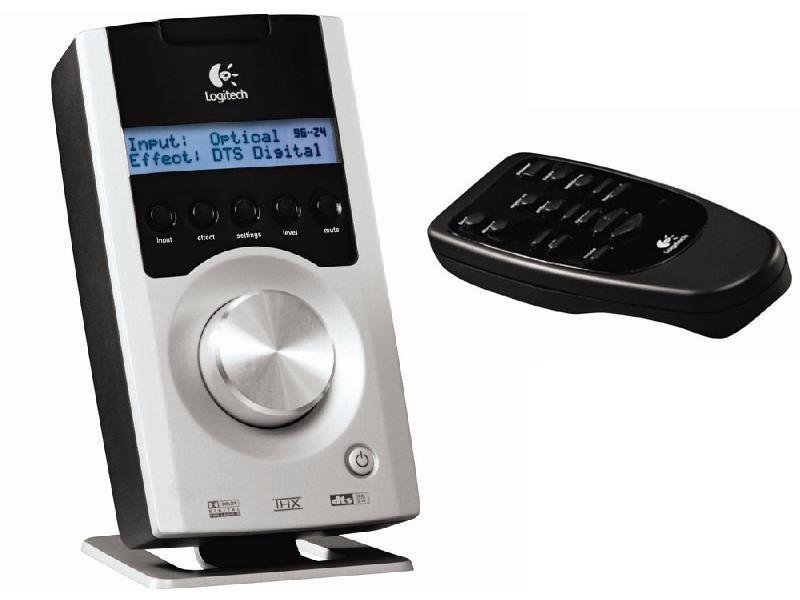 Logitech Z-5500 SoundTouch-Panel