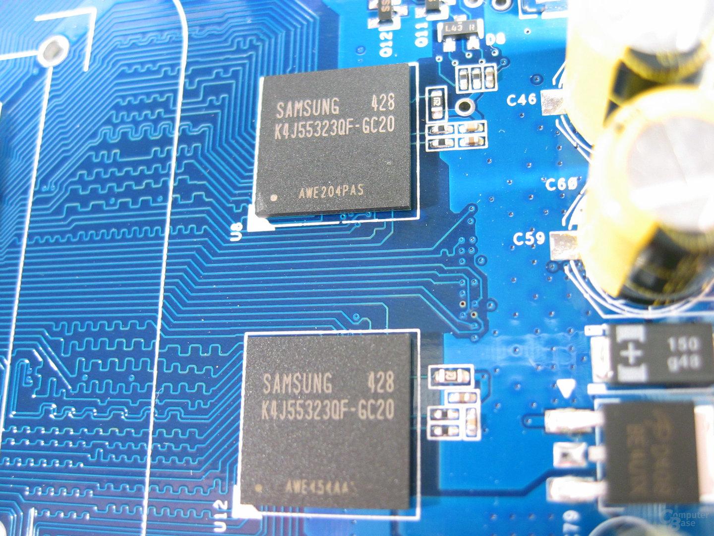 Samsung GDDR3 mit 2,0 ns