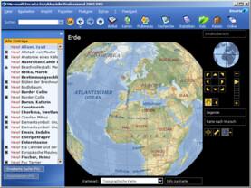 Encarta 2005 (Professional): Weltatlas