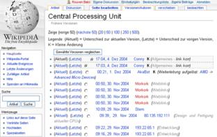 Wikipedia: Versionsvergleiche