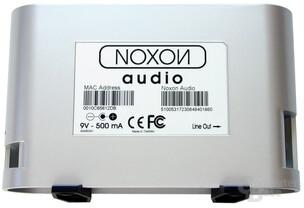 Noxon Audio - Rückseite