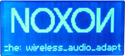 Noxon Audio - Display - Startbildschirm