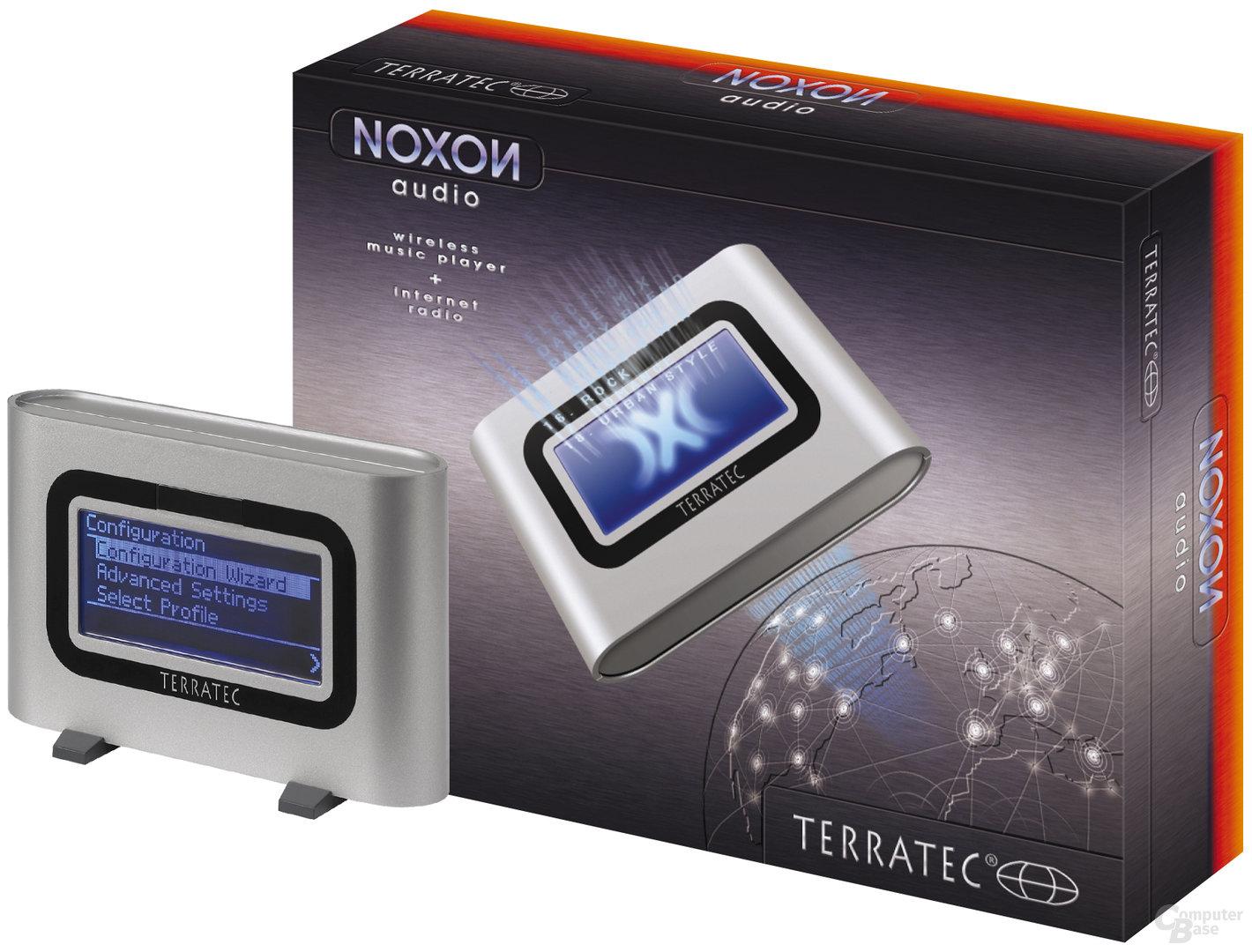 NOXON Audio und Verpackung