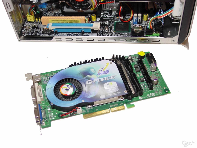 EY855 und GeForce 6800 GT