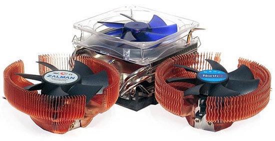 Im Test vor 15 Jahren: Die ersten 120-mm-Kühler kühlten gut und leise