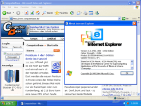 Windows XP x64 - der Internet Explorer 64-Bit ist nicht Standard