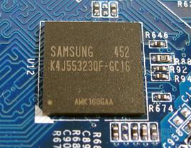 GDDR3-RAM