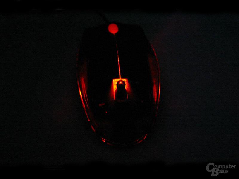 Razer Viper im Dunkeln