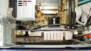 Asus S-presso S1-P111 Deluxe - Inkompatibilität - GeForce FX 5900, bei der das Gehäuse nicht mehr geschlossen werden kann