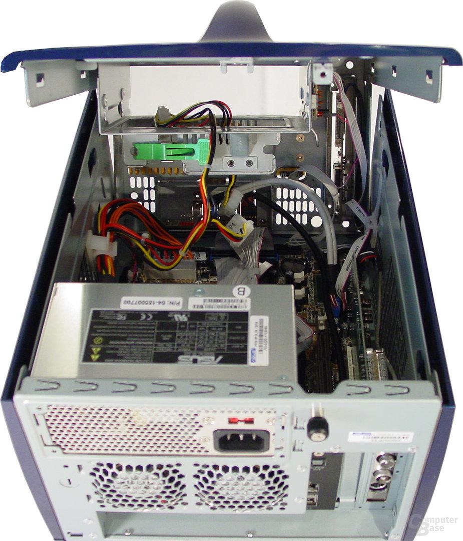 Asus S-presso S1-P111 Deluxe - Installation - Geöffneter Deckel