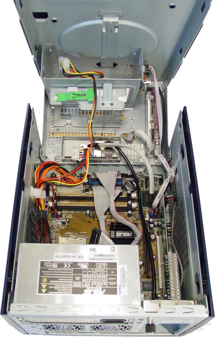 Asus S-presso S1-P111 Deluxe - Installation - Innenleben