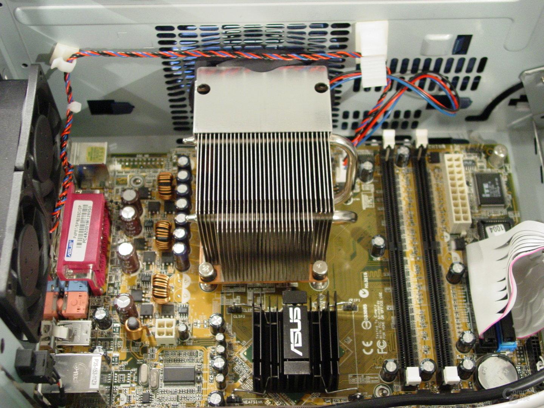 Asus S-presso S1-P111 Deluxe - Installation - Montierter CPU-Kühler