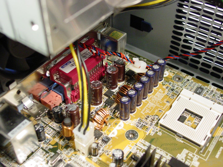 Asus S-presso S1-P111 Deluxe - Installation - MOSFETs, Sockel, 12V Stecker und Anschlüsse