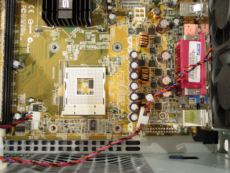 Asus S-presso S1-P111 Deluxe - Installation - Sockel und Spannungswandler