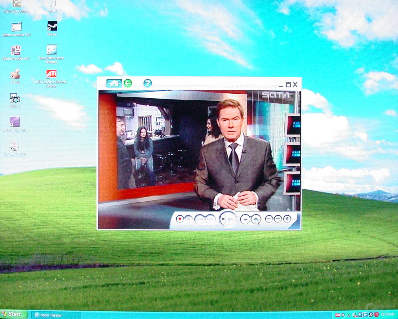 Asus S-presso S1-P111 Deluxe - Multimedia - Fernsehwiedergabe im Fenster - 2