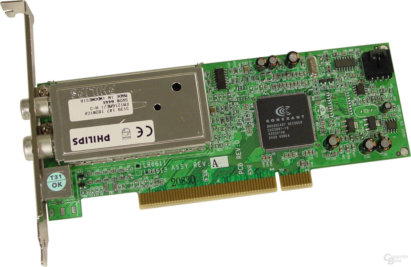 Asus S-presso S1-P111 Deluxe - TV-FM-Karte
