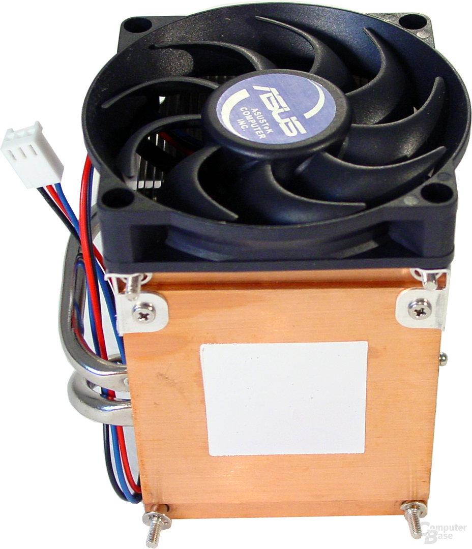 CPU-Kühler - Unterseite