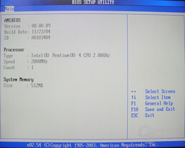 Asus S-presso S1-P111 Deluxe - Bios - System Information