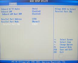 Asus S-presso S1-P111 Deluxe - Bios - Integrated Peripherals