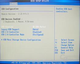 Asus S-presso S1-P111 Deluxe - Bios - USB Configuration