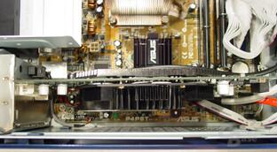 Asus S-presso S1-P111 Deluxe - Inkompatibilität - GeForce FX 5900 Ultra, bei der das Gehäuse nicht mehr geschlossen werden kann