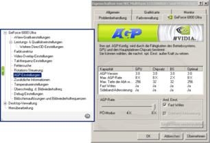 AGP-Einstellungen