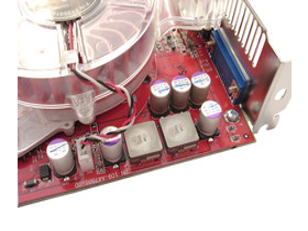 Stromversorgung für den R481-Chip
