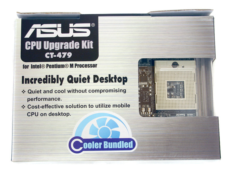 Asus CPU Upgrade Kit CT-479 Verpackung