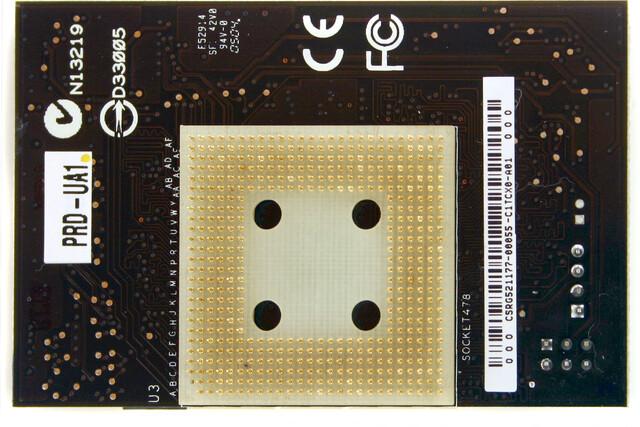Asus-Adapter: Sockel 478 auf Sockel 479