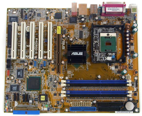 Asus CT-479 montiert auf dem P4C800-E Deluxe