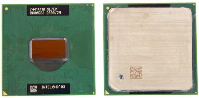 Intel Pentium M (Dothan) und Pentium 4 (Northwood)