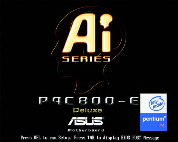 P4C800-E und Pentium M