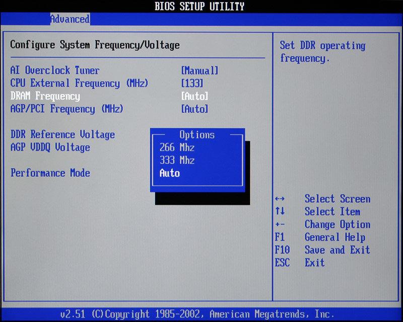 DDR333 bei 133MHz
