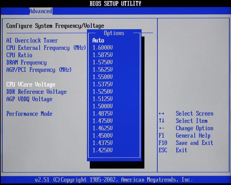 CPU Spannungen (1)