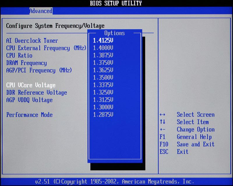 CPU Spannungen (2)