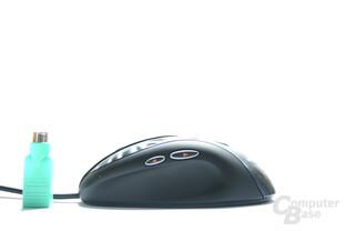 MX518 von Links mit Größenvergleich