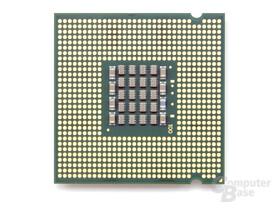 Intel Pentium Extreme Edition 840 unten