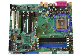 nForce 4 SLI (Intel Edition) Referenzboard ohne Kühler